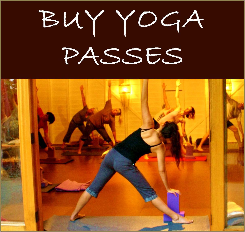 Buy Yoga Passes