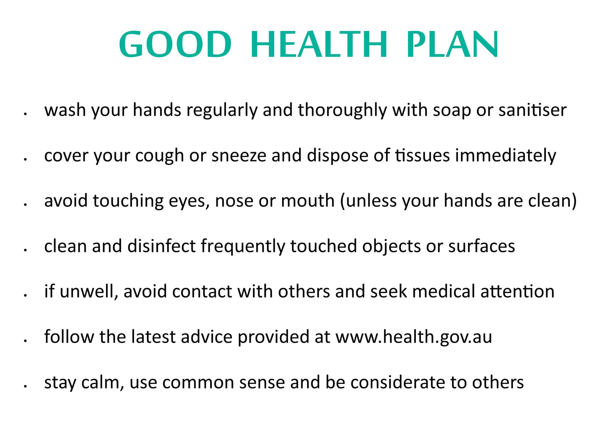 Good Health Plan